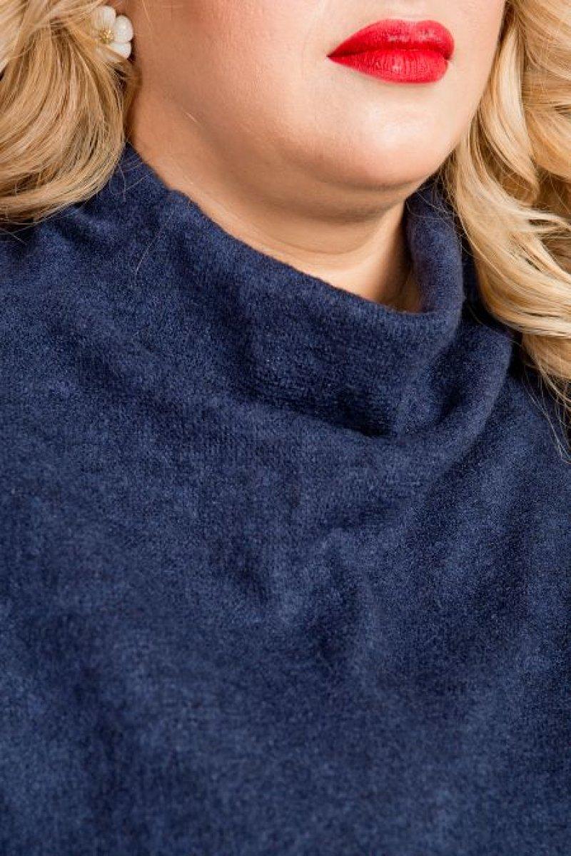 Блузка 781 (синий)