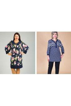Визуальные приемы, применяемые при пошиве одежды для полных женщин, которые позволяют зрительно уравновесить фигуру