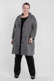 Пальто PL40522MEL23 серый