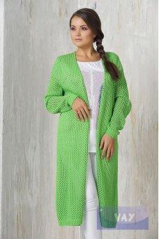 Жакет жен. 1450 зеленое яблоко