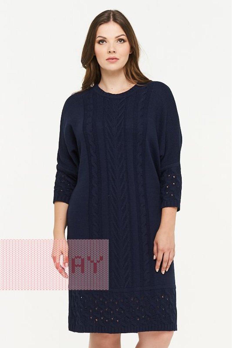 Платье 2269 т.синий