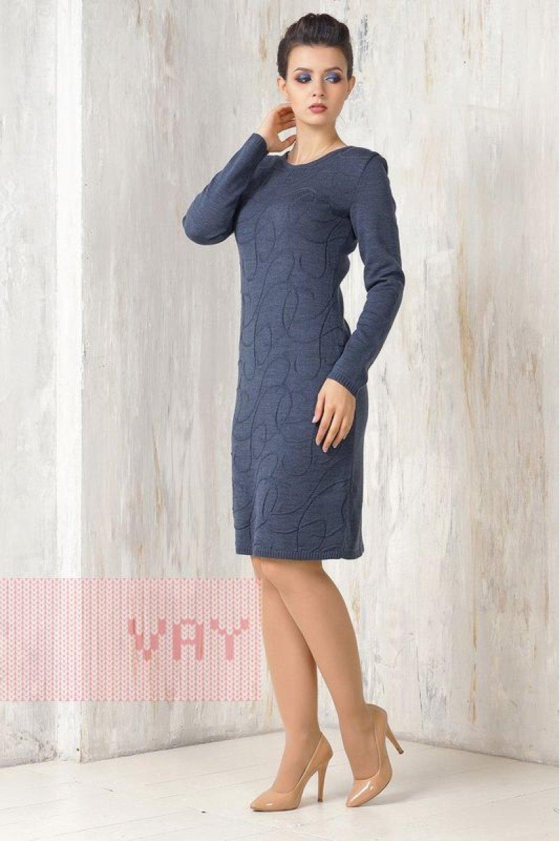 Платье 2270 т.джинс