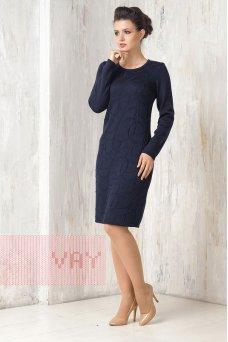 Платье 2270 т.синий