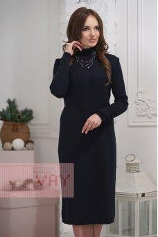 Платье 2280 т.синий
