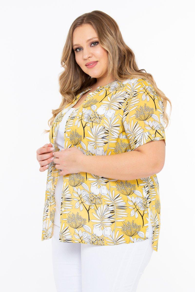 Блузка Амброзия (желтый)
