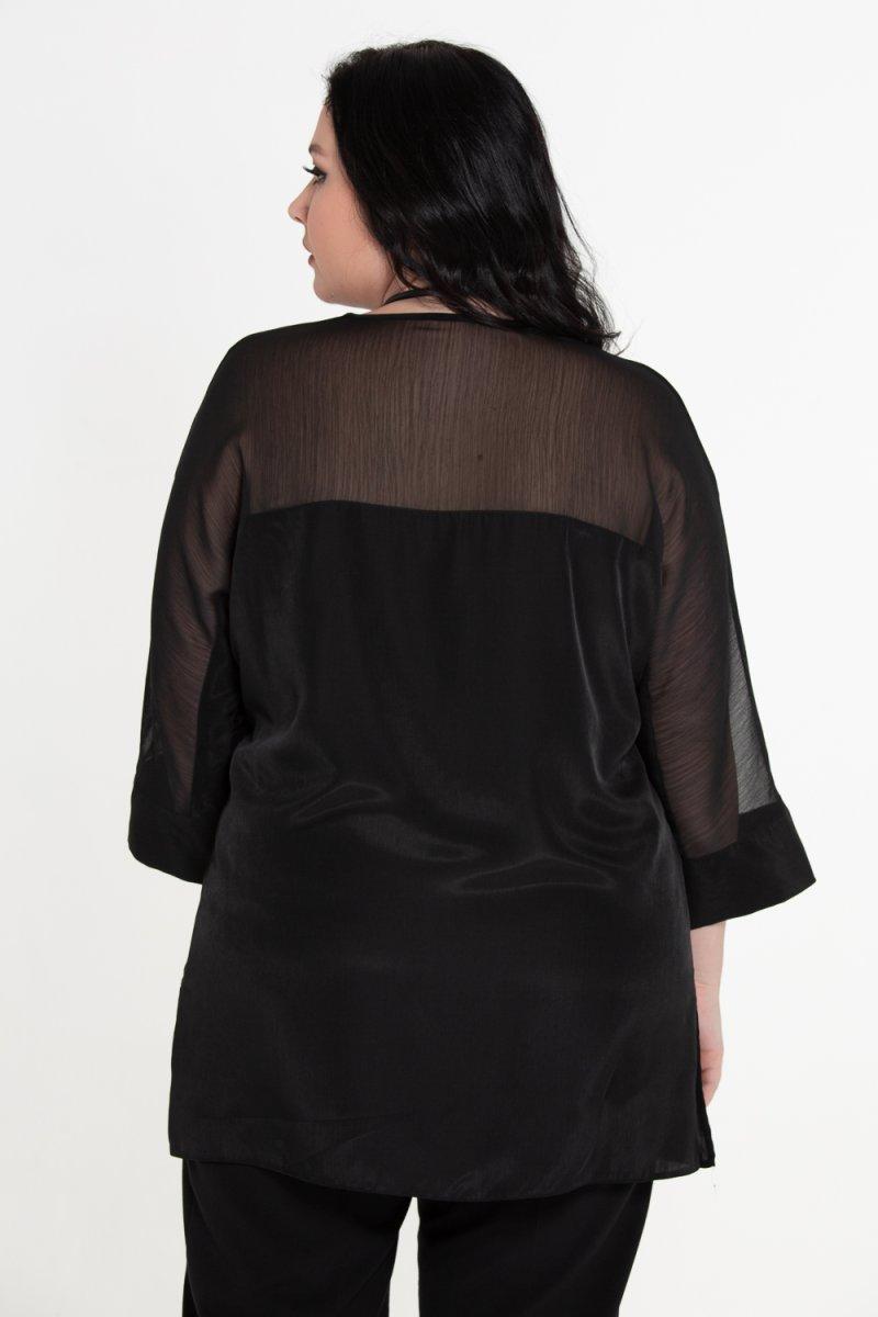 Блузка Вирджиния (черный)