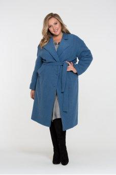 Пальто Асвейга (серо-голубой)
