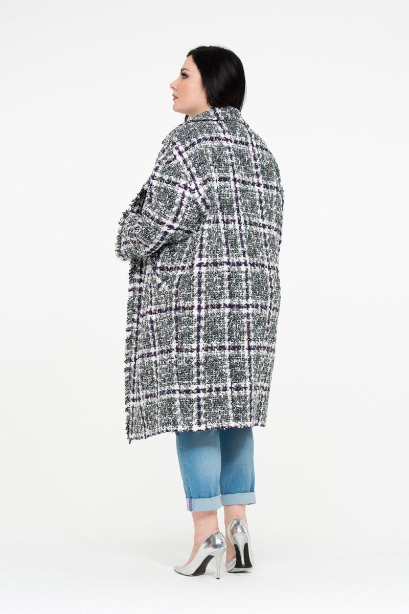 Пальто Люси (серый)