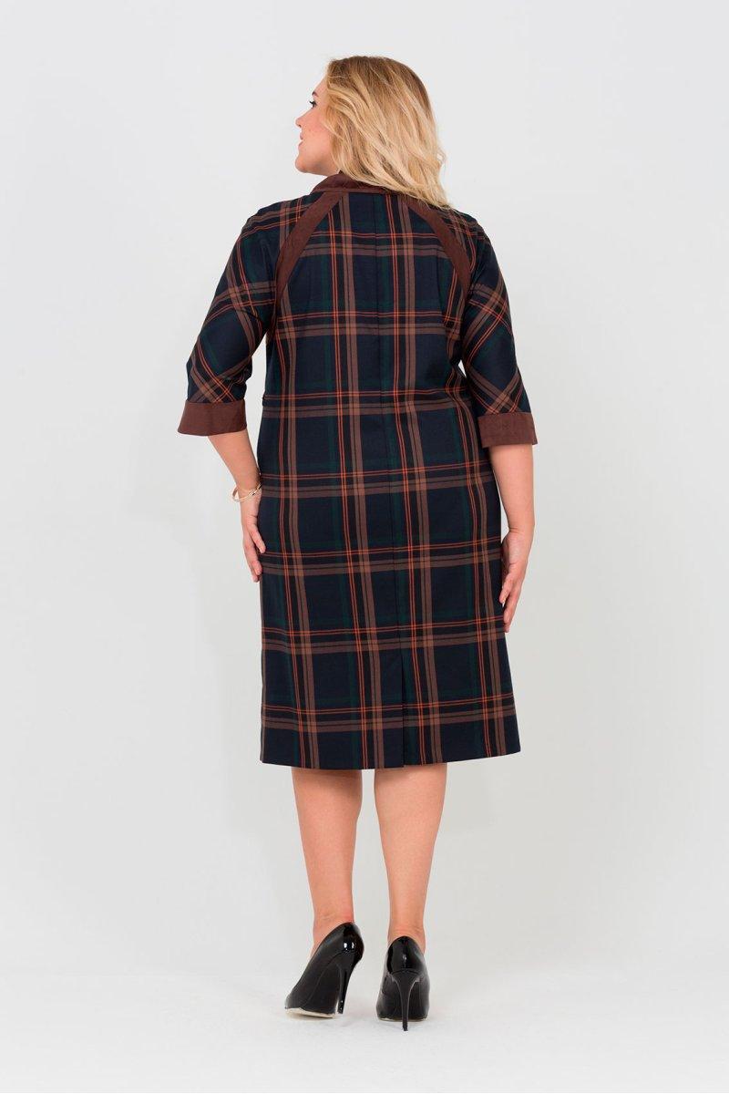 Платье Элисия (коричневый)