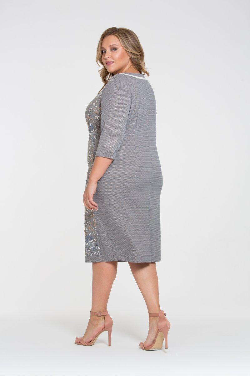 Платье Аурика (серый)