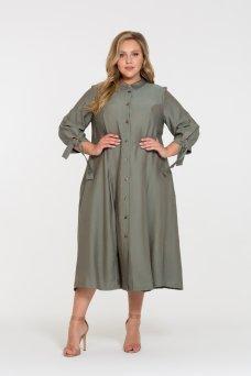 Платье Брилл (фисташка)