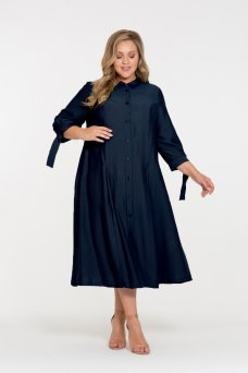 Платье Брилл (темно-синий)