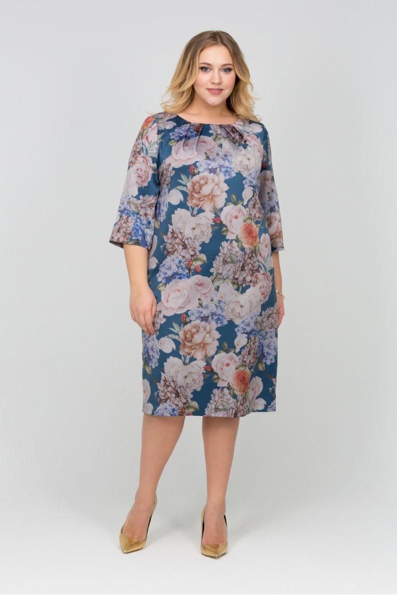e2ebee1e5eb Платье Бриз (мультицвет) фирмы Интикома купить по цене 4200 руб ...