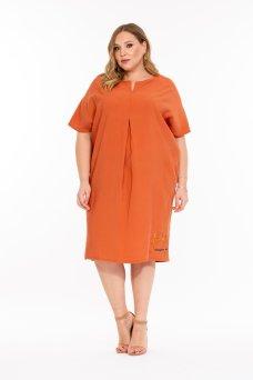 Платье Дайкири (терракот)