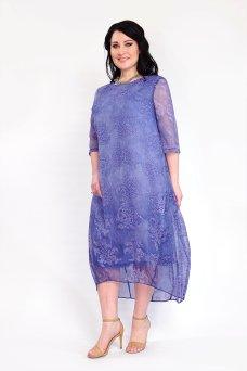 Платье Дайна (голубой)