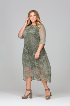 Платье Дайна (хаки)