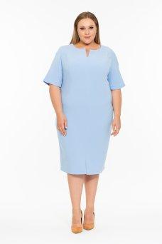 Платье Эльза (голубой)