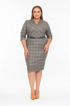 Платье Эмери (серый)