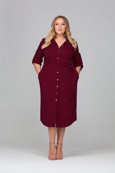 Платье Глорис (бордо)