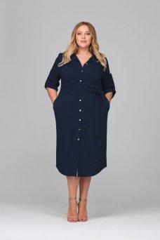 Платье Глорис (синий)
