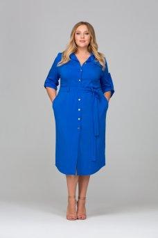 Платье Глорис (василек)