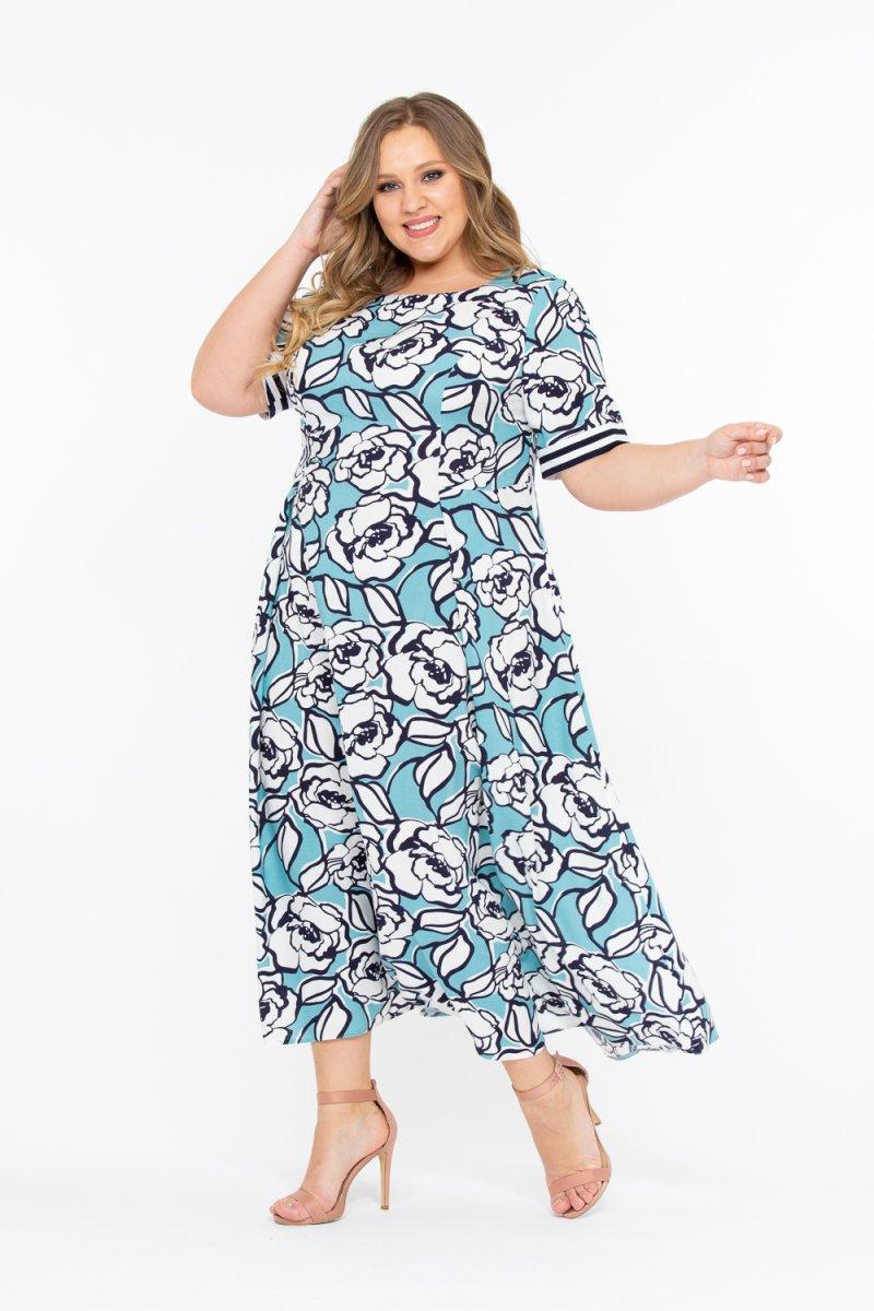 Платье Катарина (голубой)
