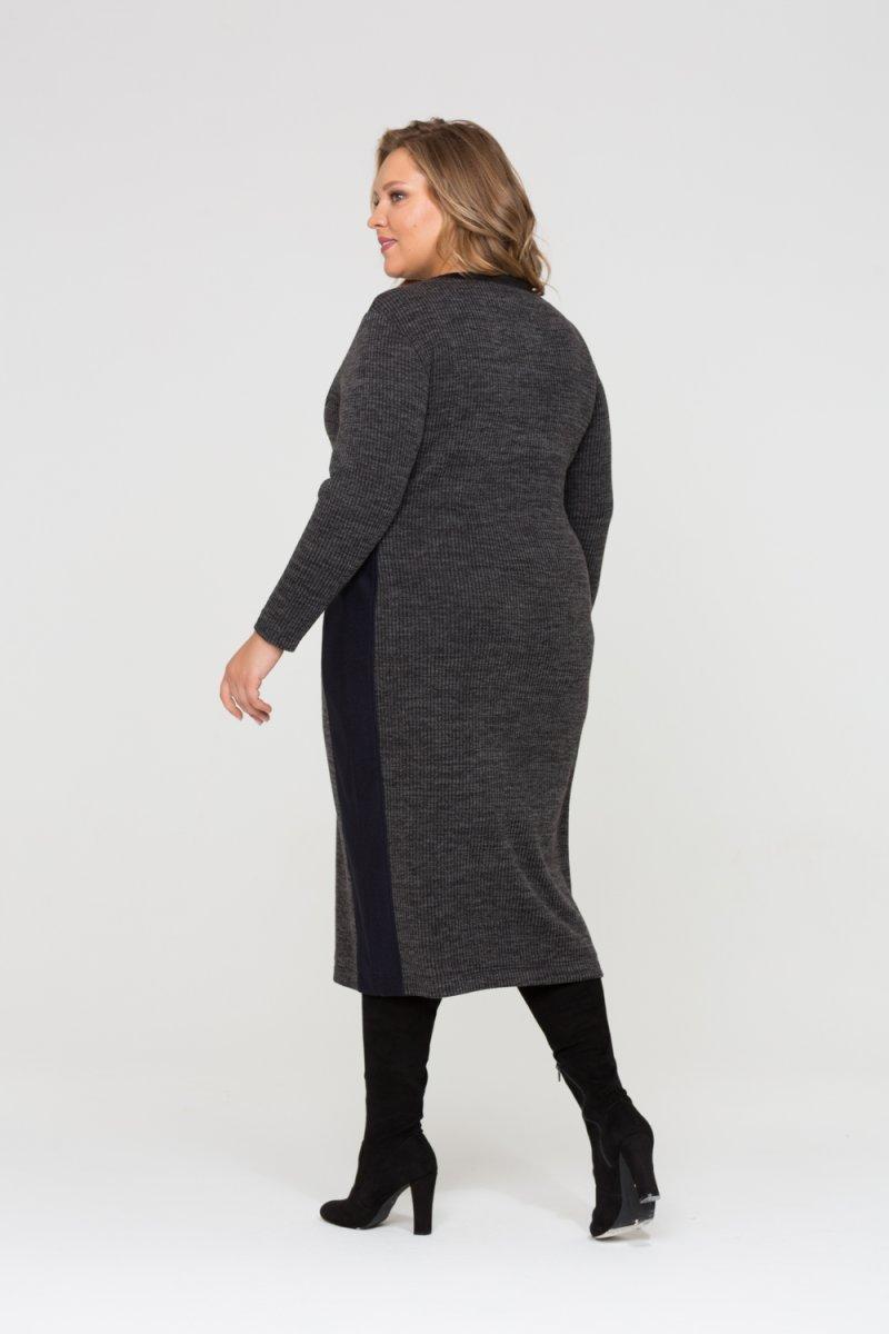 Платье Кэтрин (темно серый)