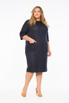 Платье Лэверн (темно синий)