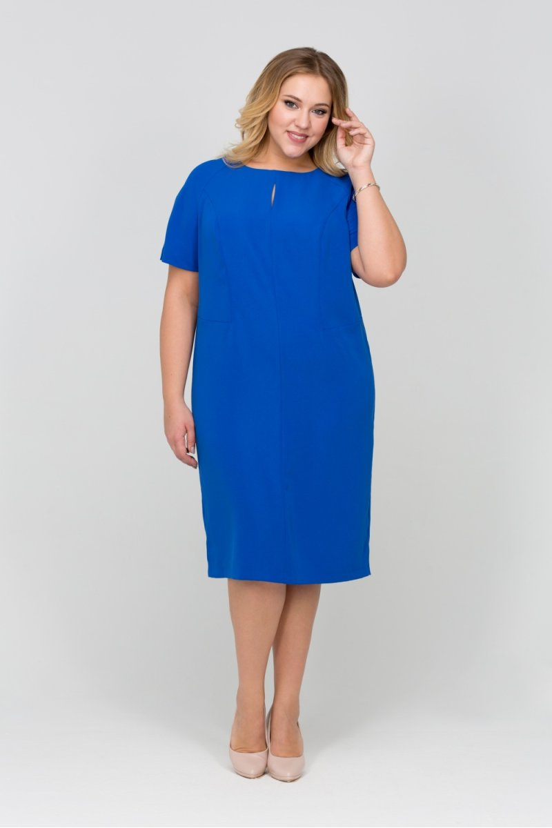 Платье Линда (василек)