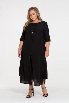 Платье Лучана (черный)