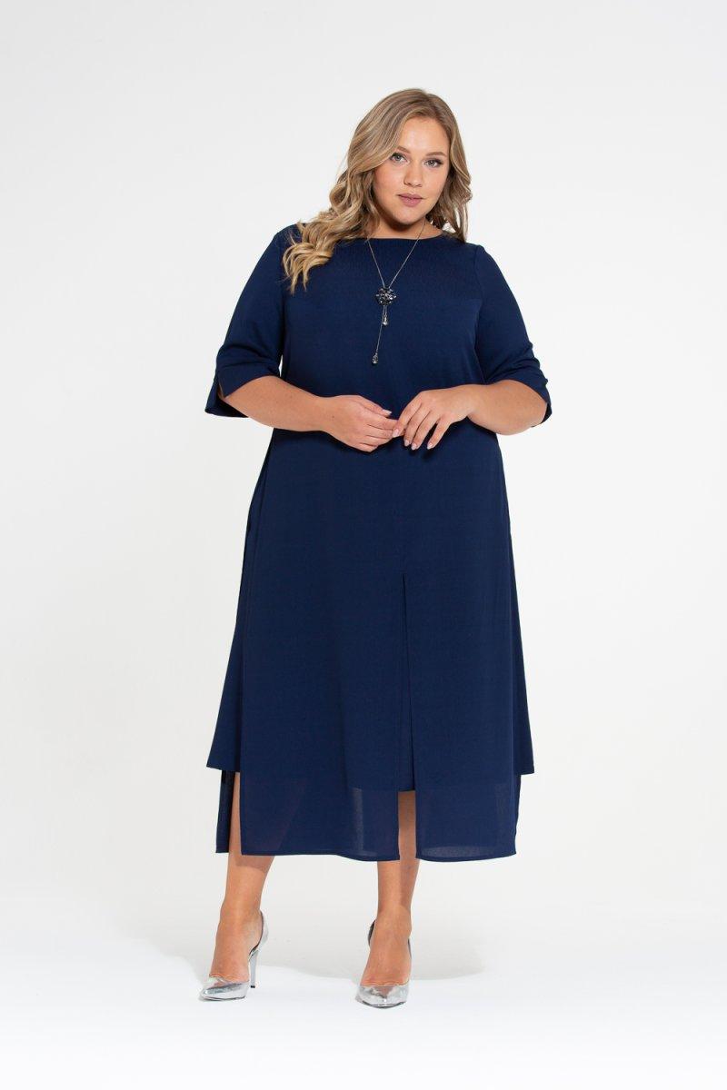 Платье Лучана-2 (темно синий)