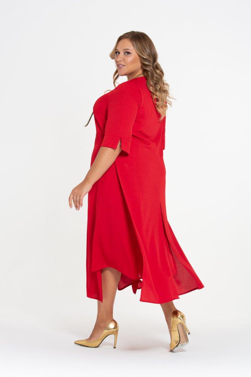 Платье Лучана-2 (красный)