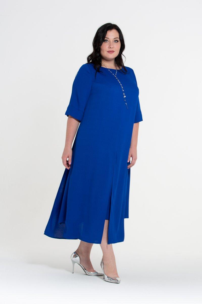 Платье Лучана-2 (василек)