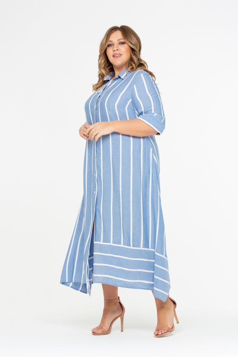 Платье Малена (голубой)