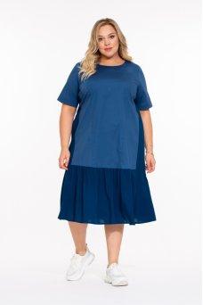 Платье Марес (синий)