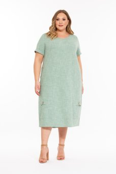 Платье Сантини (зеленый)