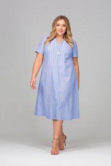 Платье Сесилия (голубой)