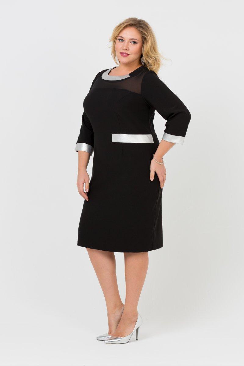 Платье Синти (черный)