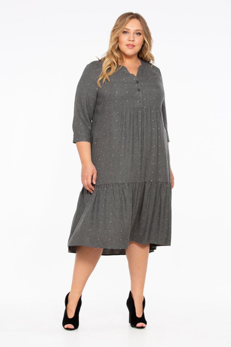 Платье Хилари (серый)