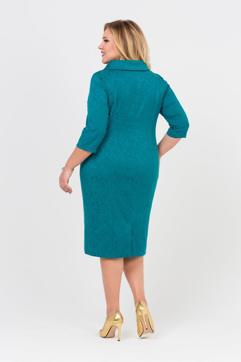 Платье Зара (бирюза)
