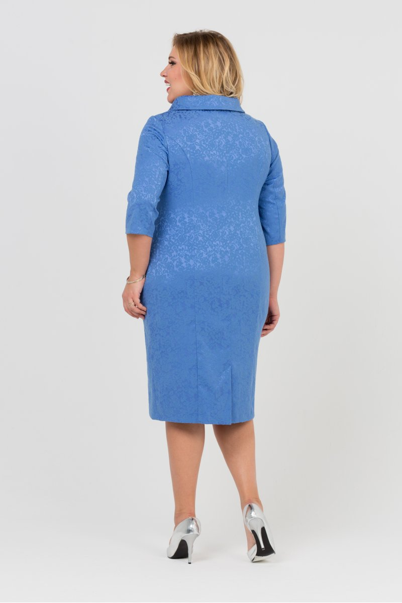 Платье Зара (голубой)