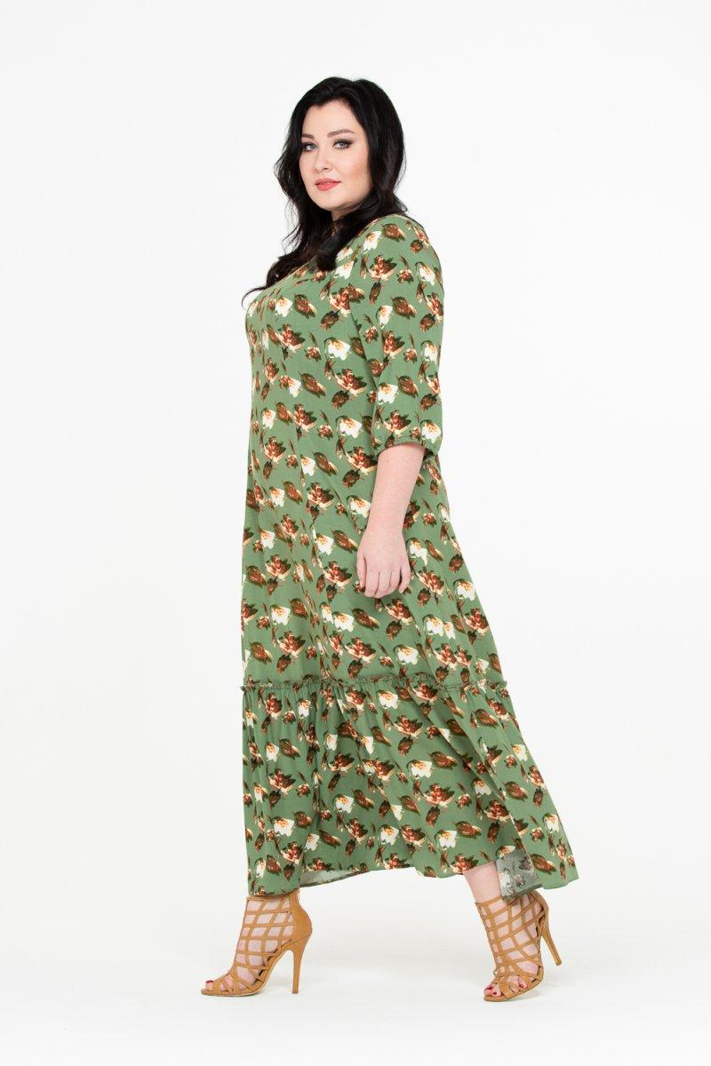 Платье Жасмин (зеленый)