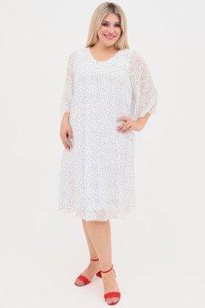 Платье 1084 белый