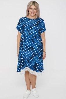 Платье 1104 синий