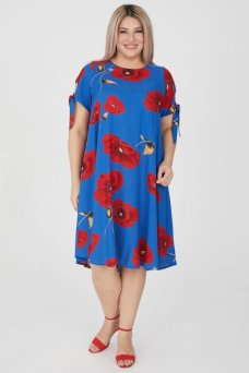 Платье 1199 синий