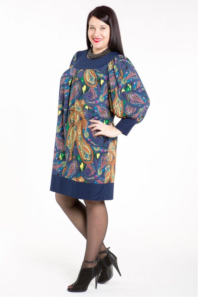 Платье 355 (абстракция)