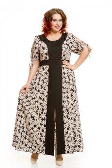 Платье 437 (черный)