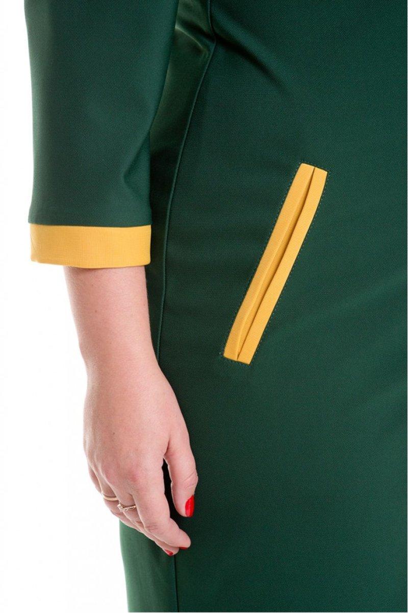 Платье 519 (зеленый)