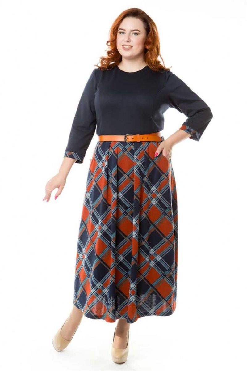 Платье 544 (шотландка)