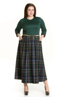 Платье 544 (зеленый)